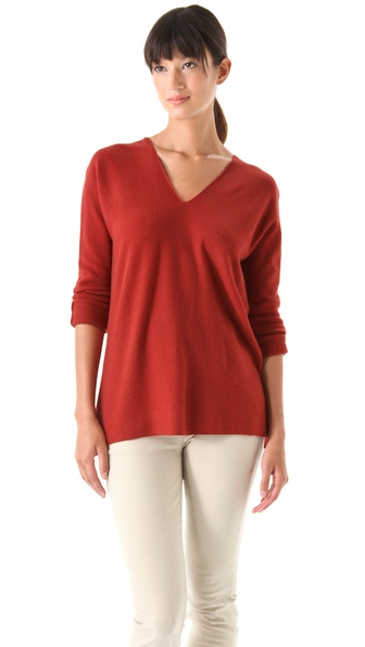 Vince Double V Cashmere Sweater
