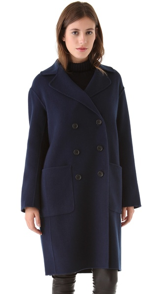 Vince Men's Overcoat