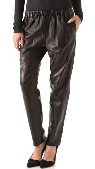 Vince Relaxed Leather Pants