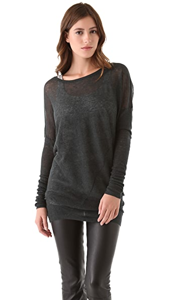 Vince Twist Seam Crew Sweater