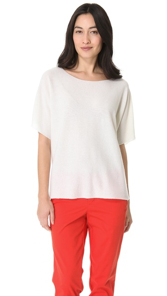 Vince Cashmere Oversized Tee