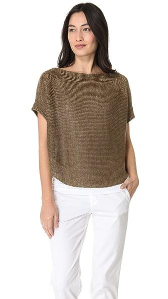 Vince Short Sleeve Sweater