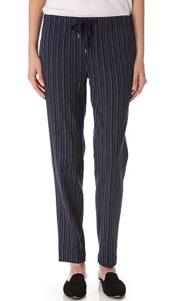 Vince Striped Drawstring Pants