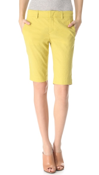 Vince Linen Bermuda Shorts
