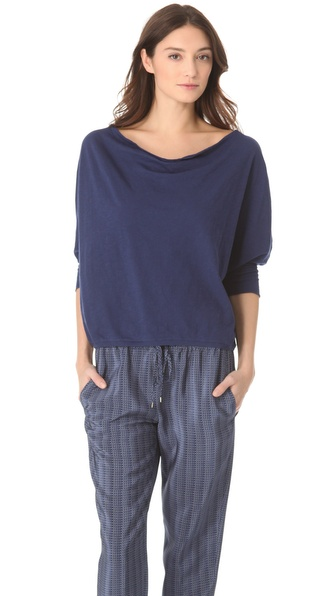 Vince Side Drape Tee