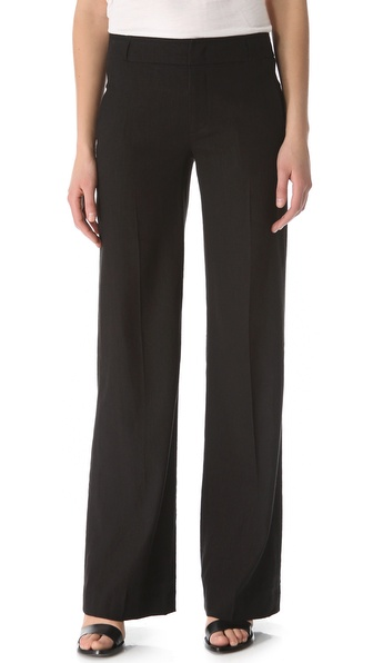 Vince Wide Leg Linen Pants