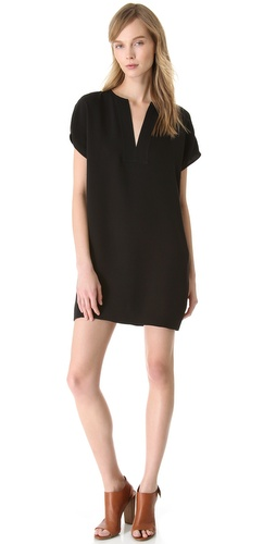 Shop Vince Split Front Dress and Vince online - Apparel,Womens,Dresses,Day_to_Night, online Store