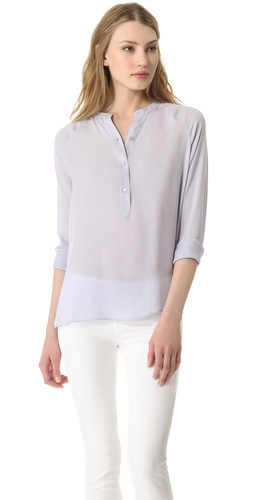 Shop Vince Raglan Sleeve Top and Vince online - Apparel,Womens,Tops,Blouse, online Store