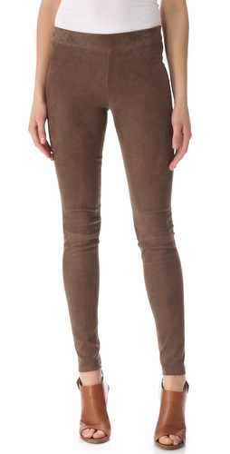 Vince Suede Leggings