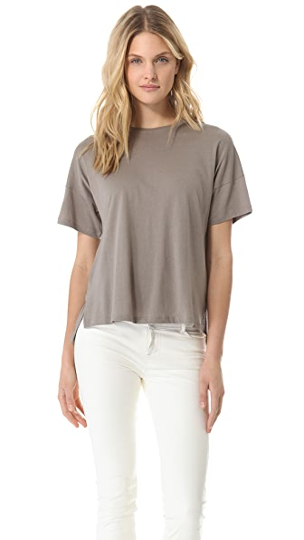 Vince Drop Shoulder Crew Tee