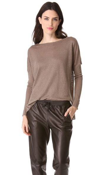 Vince Drop Shoulder Sweater