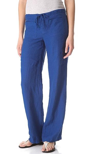 Vince Linen Beach Pants