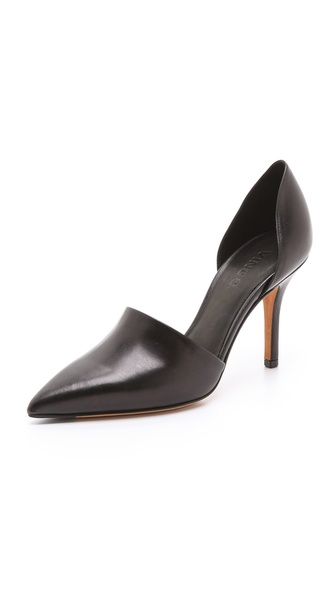 Vince Claire D'Orsay Pumps - Black/Black at Shopbop / East Dane