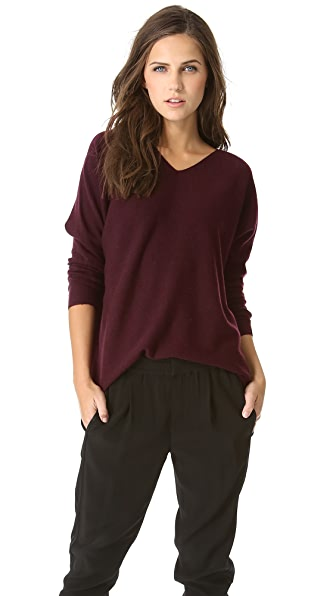 Vince Hi Low Cashmere Sweater
