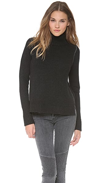 Vince Contrast Link Sweater