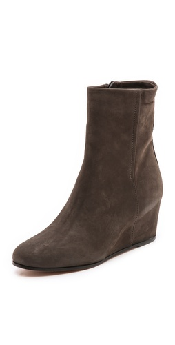 Vince Michela Suede Wedge Booties at Shopbop / East Dane