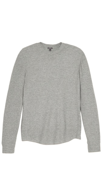 Vince Thermal Crew Neck T-Shirt