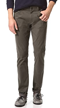 Vince Stretch Twill 5 Pocket Jeans