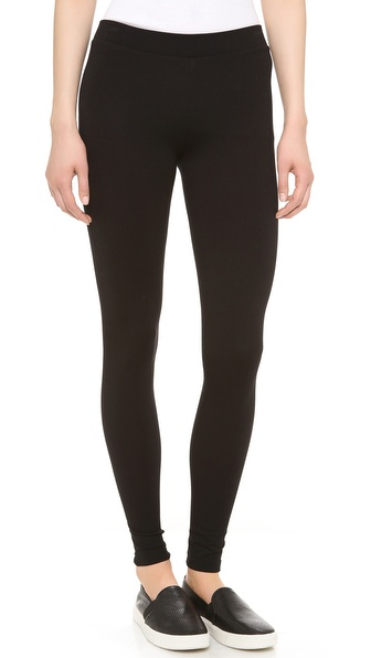 Vince Scrunch Ankle Leggings - Black at Shopbop / East Dane
