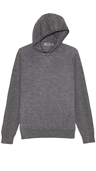 Vince Lightweight Hooded Sweater