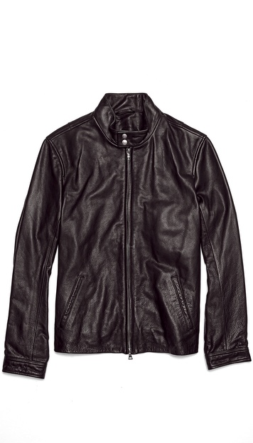 Vince Harrington Leather Motorcycle Jacket