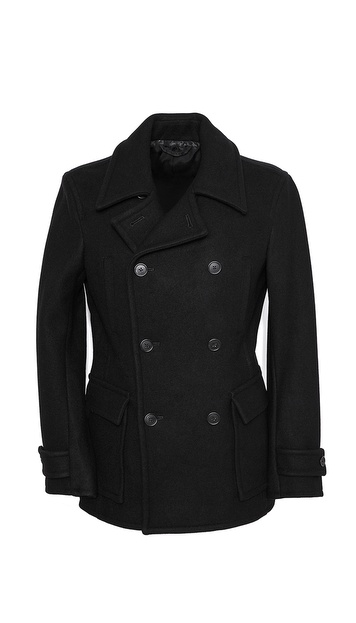 Vince Stadium Pocket Pea Coat