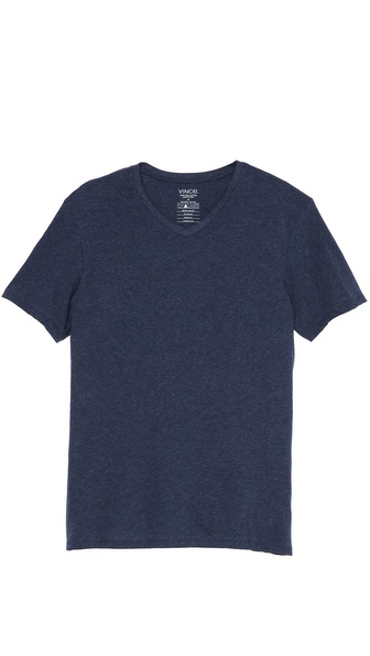 Vince Favorite Heathered V Neck T-Shirt