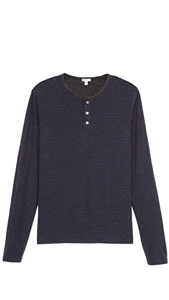 Vince Favorite Long Sleeve Henley
