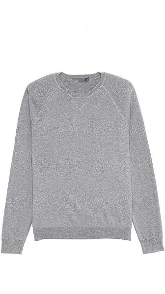 Vince Italian Cotton Crew Neck Sweater