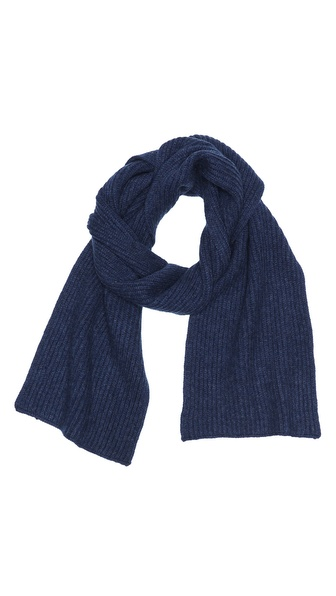 Vince Cashmere Ribbed Scarf