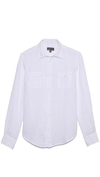 Vince Linen Sport Shirt