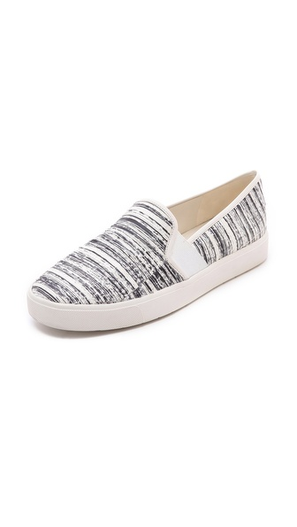 Vince Blair Slip On Sneakers - White/White at Shopbop / East Dane