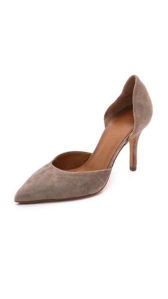 Vince Celeste D'Orsay Pumps - Woodsmoke at Shopbop / East Dane