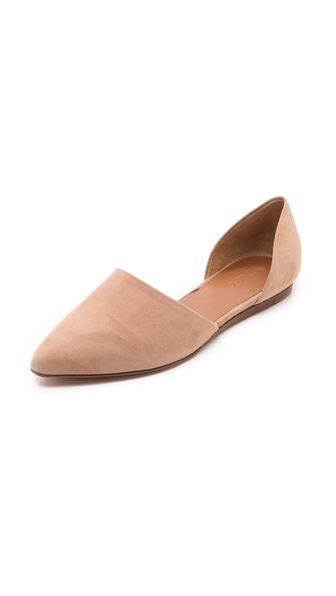 Vince Nina Two Piece Flats - Nude at Shopbop / East Dane