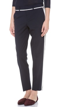 Vince Skinny Strapping Trousers