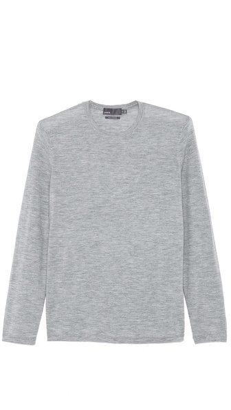 Vince Cashmere Long Sleeve T-Shirt