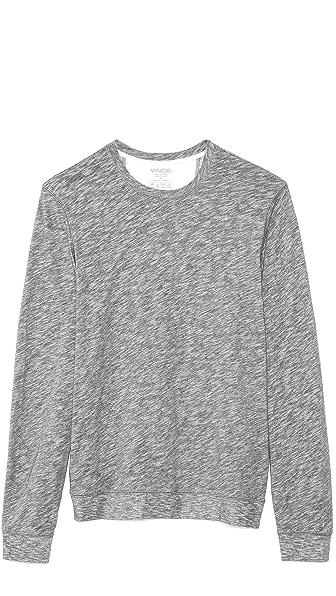 Vince Long Sleeve Jersey Sweatshirt