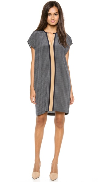 Vince Printed Shift Dress