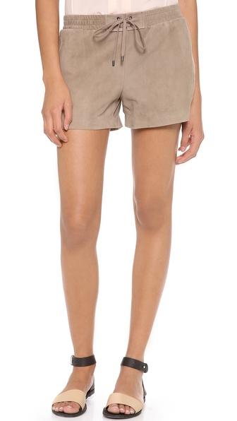 Vince Suede Boxer Shorts