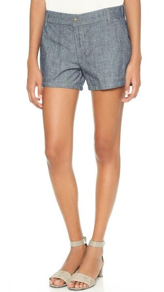 Vince Chambray Shorts