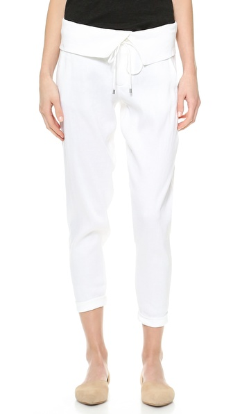 Vince Folded Waist Trousers