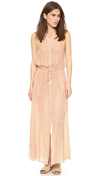 Vince Sleeveless Shirtdress
