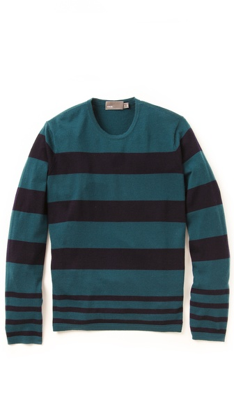 Vince Multi-Stripe Sweater