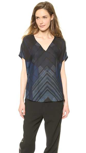 Vince V Neck Shell Top