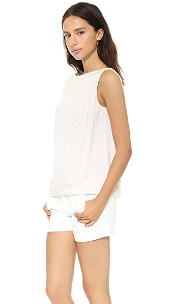 Vince Twist Shoulder Top