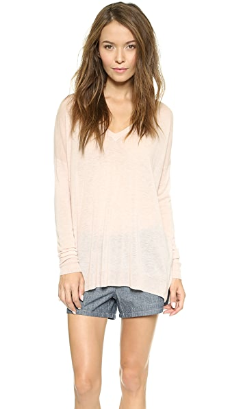 Vince Lightweight V Neck Sweater