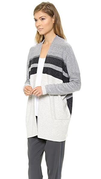 Vince Variagated Oversized Cardigan