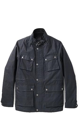 Vince Plaid Field Jacket