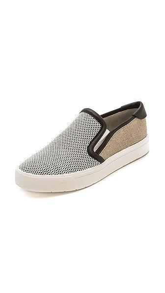 Vince Vince Bram Slip On Sneakers (Beige\/Sand\/Tan)