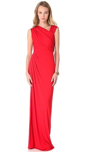 Vionnet Sleeveless Long Dress